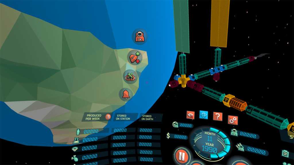 "Looking ""to the left"" of the virtual cockpit in the 'Low-End Mobile VR' version (no longer supported)."